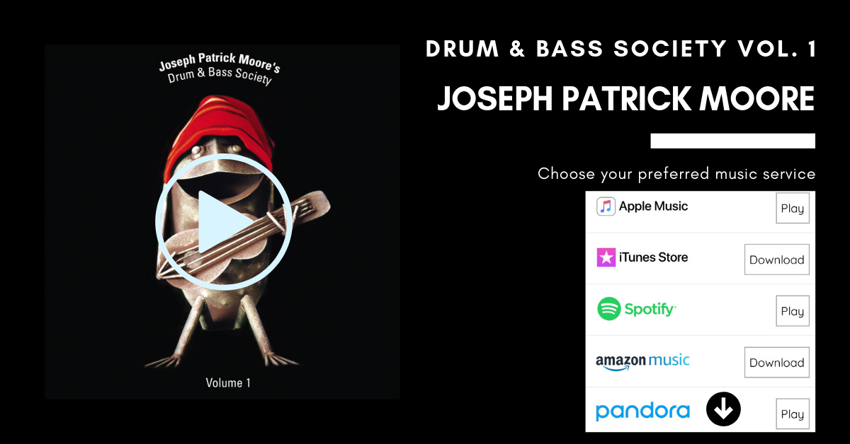 Joseph Patrick Moore Drum n Bass Society Volume 1